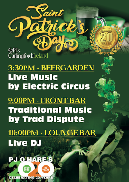 st patricks day carlingford 2020